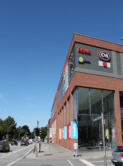 Einkaufszentrum Hamburg Bramfeld - nahe dem Standort Maler Bollers