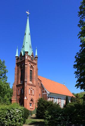 Nikolaikirche in Hamburg Moorfleet
