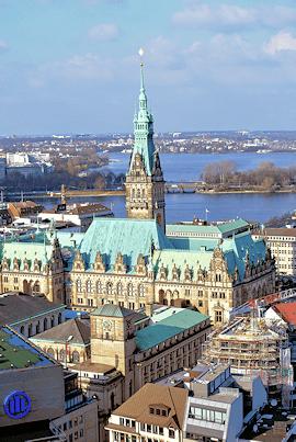 Hansestadt Hamburg - Firmensitz Maler Bollers