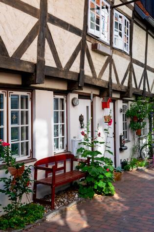 Maler Boller malt für Lübeck