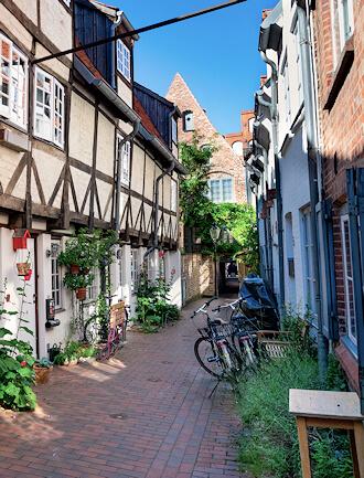 Lübeck - Tätigkeitsbereich von Maler Boller