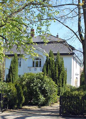 Hamburg Oldenfelde und Rahlstedt - hier malt Maler Boller gern