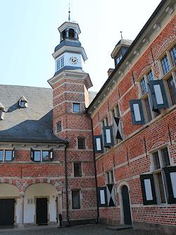 Reinbeker Schloss - fotografiert von Maler Boller