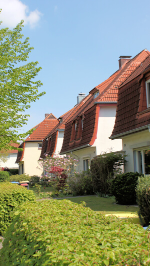 Wandsbek Gartenstadt - auch hier Malerarbeiten von Maler Boller
