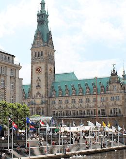 Hamburg Altstadt - Rathaus