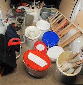 Maler Grundausrüstung