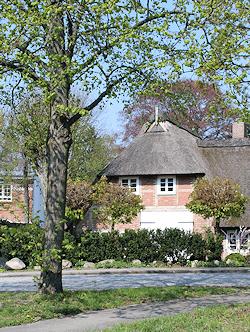Hamburg Groß Borstel - Fachwerkhaus