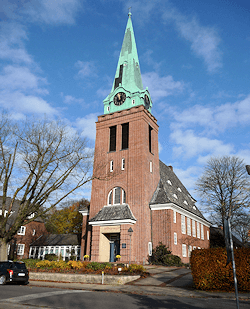 Hamburg Groß Flottbek - Kirche