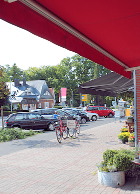 Großhansdorf -Einkaufsstraße