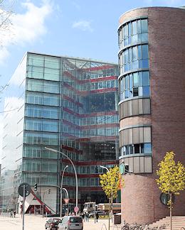 Hamburg Hammerbrook - Bürogebäude