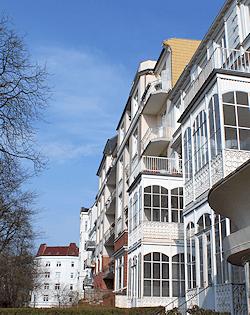 Hamburg Hoheluft - hier arbeitet Maler Boller gern