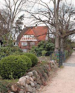 Hamburg Lemsahl-Mellingstedt - Rotsteinvilla