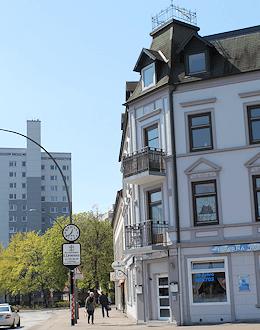 Hamburg Lohbrügge - hier malt Maler Boller gern