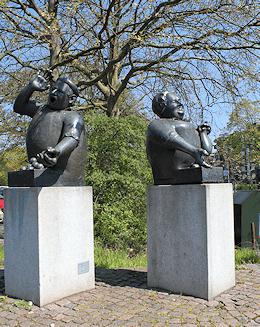 auch Hamburg Lohbrügge ist Arbeitsfeld von Maler Boller