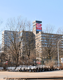 Hamburg Lokstedt - NDR Rundfunkgebäude