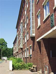 Hamburg Dulsberg - auch hier arbeitet Maler Boller