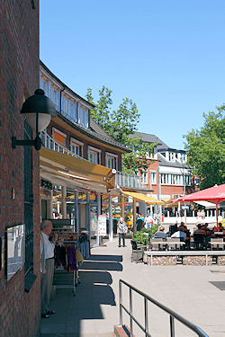 Hamburg Volksdorf - hier arbeitet Maler Boller gern