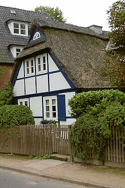 Hamburg Othmarschen - auch hier arbeitet Maler Boller