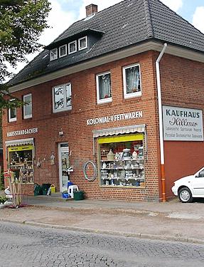 Hamburg Bergstedt - Kaufhaus Hillmer